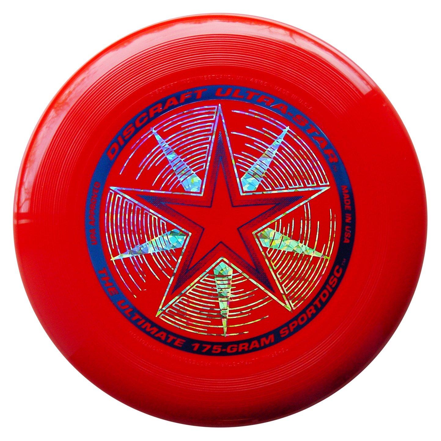 Frisbee Profesional Discraft 175 gr. / 27cm  Rojo Deluxe