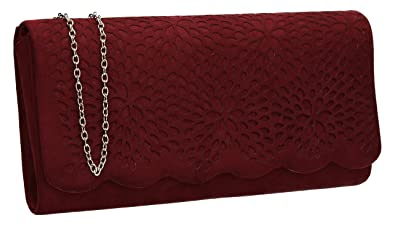 milisente women clutch bag suede evenlope clutch classic evening bag