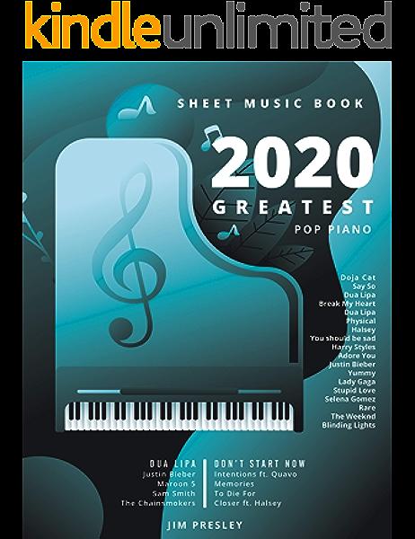 2020 Greatest Pop Piano Sheet Music Book Songbooks For Piano Piano Music Sheet Music Piano Sheet Music Popular Songs Piano Sheet Music Piano Book The Piano