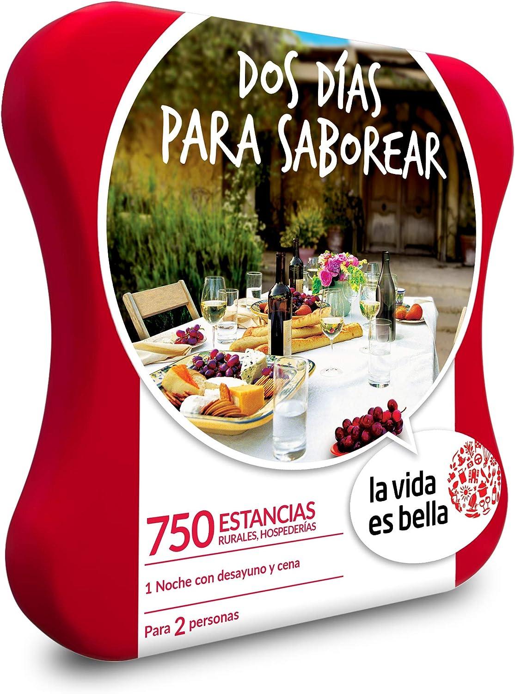 Smartbox Caja Regalo Estancia Gastronómica Dos Días para Saborear de La Vida es Bella: Amazon.es: Deportes y aire libre