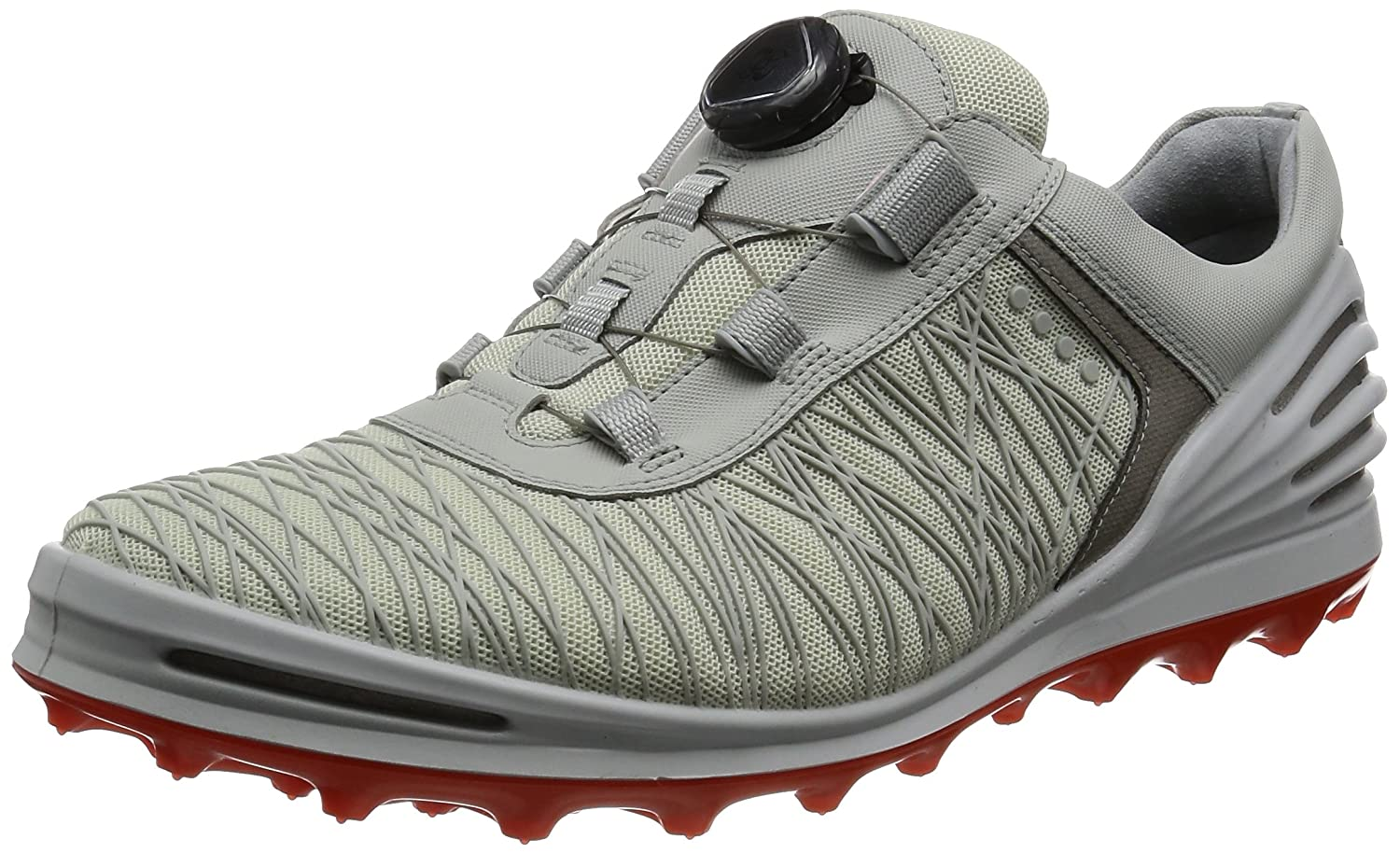 [エコー] ゴルフシューズ ECCO GOLF CAGE PRO 133014 B01KIHNOES 47 M EU / 13-13.5 D(M) US Shadow White