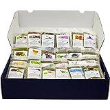 Wellness-Tee Geschenkset mit 24x15g Detox-, Wellness-, Ayurveda- und Bio-Tees inkl. Infobroschüre Weihnachtsgeschenk