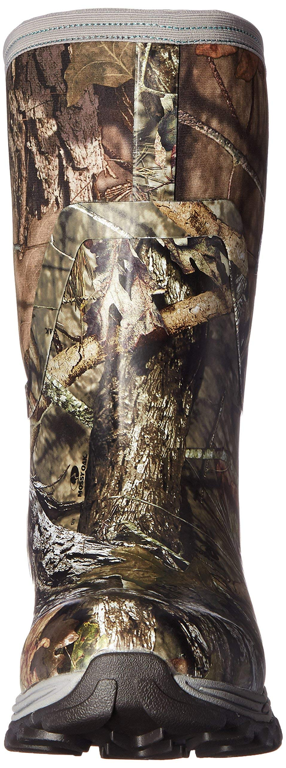 Muck Arctic Hunter Extreme Conditions Rubber Women's Hunting Boots, Mossy Oak/Teal, 7 M US