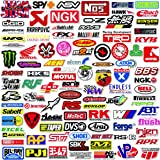 74cea0a578f Q-Window Paquete de Pegatinas Serie Coche y Moto Modified Brand Logo (103  pcs