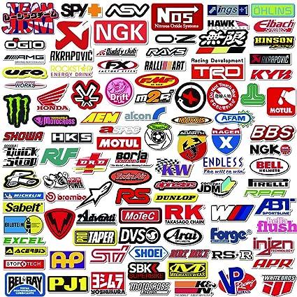 Q Window Lot Autocollants Voiture Et Moto Modified Brand Logo Series 103 Pcs Stickers Vinyle Pour Ordinateur Portable Voiture Moto Planche A