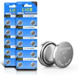 LiCB 20 Pack SR920SW 371 370 AG6 Battery 1.5V Button Cell Watch Batteries