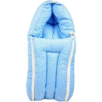 Baybee 3 in 1 Cotton Bed Cum Baby Sleeping Bag – Infant Portable Bassinet, Nest for Cosleeping for 0-6 Months
