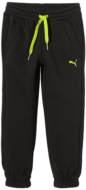 PUMA Q4 - Pantalones de chándal para niño: Amazon.es: Ropa y ...