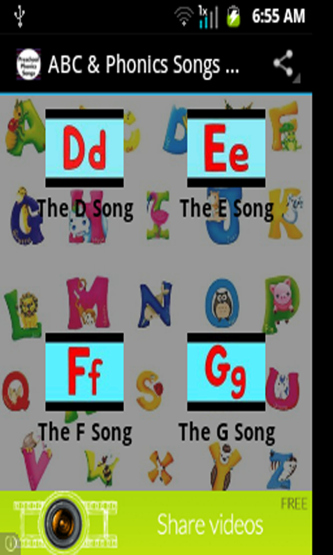 ABC Traditional Song Free MP3 Download and Printables