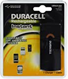Duracell Instant USB Charger/Includes Universal Cable with USB & mini USB, 1 Count