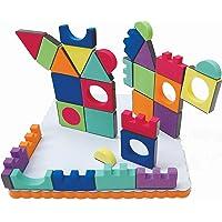 Edushape Magic Shapes Magnetic Foam 54 Piece Building Blocks