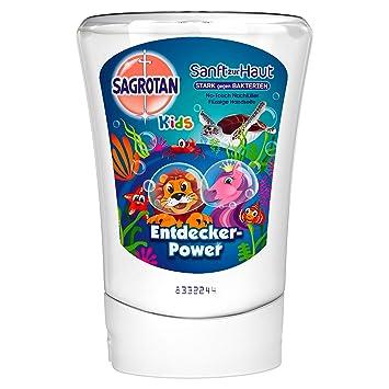 Sagrotan No Touch Kids Después de pluma Entdecker Power Aloe Vera, 5 unidades (5 x 250 ml): Amazon.es: Belleza