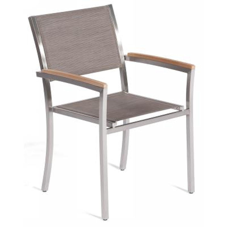 Schon Excellent Gartenstuhl Sessel Galaxy Taupe Edelstahl Teakholz Gnstig With  Gartenstuhl Gnstig