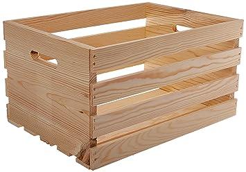 Amazon.com: Houseworks 67140 - Caja de madera para palés y ...