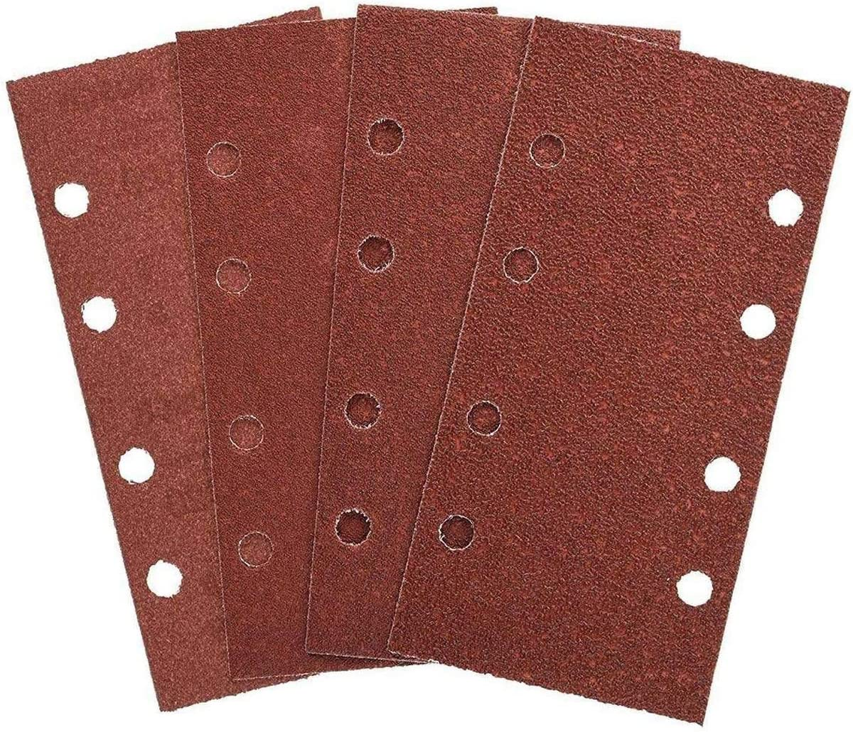 1//3 Sanding Sheets 240 Grit Pack of 10 Top Quality Sheets