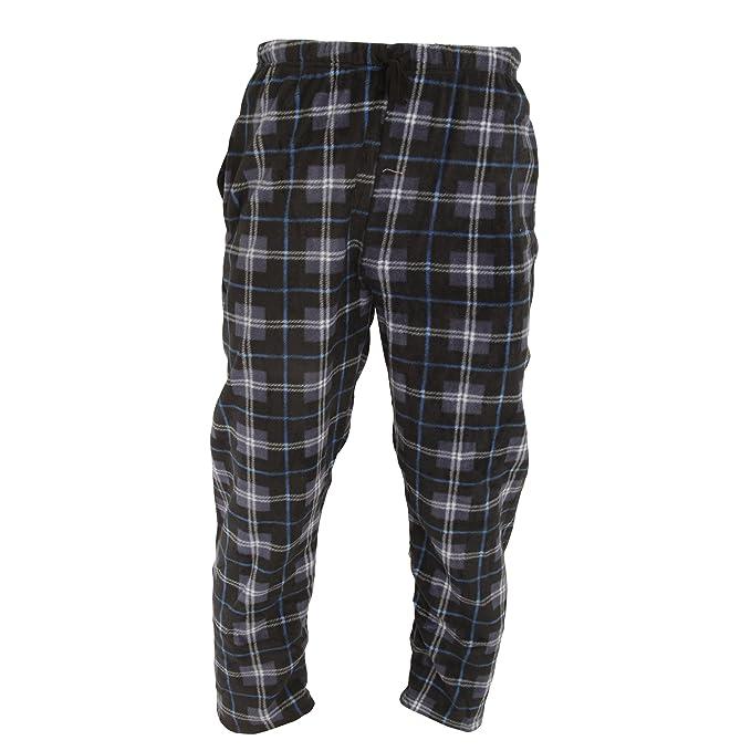 Harvey James - Pantalón de pijama de polar para hombre: Amazon.es: Ropa y accesorios
