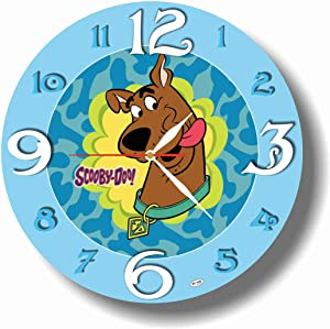 Art time production Scooby Doo 11.8'' Handmade Unique Wall Clock - Get Unique décor for Home or Office – Best Gift Ideas for Kids, Friends, Parents