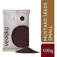 Amazon Brand - Vedaka Mustard Seeds (Rai) Small, 100g