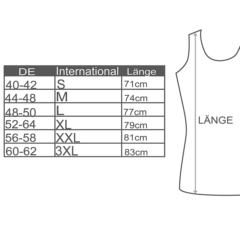 5/camisetas interiores para hombre sin costuras laterales no se deforman para ropa de negocios de algod/ón SGS Bakis de tirantes sin costuras acanaladas