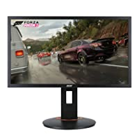 """Acer Gaming XFA240 bmjdpr 24"""" Full HD (1920 x 1080) TN Monitor con tasa de actualización de 144hz y tecnología AMD FREESYNC (Puerto de Display, HDMI/MHL, y DVI Port)"""