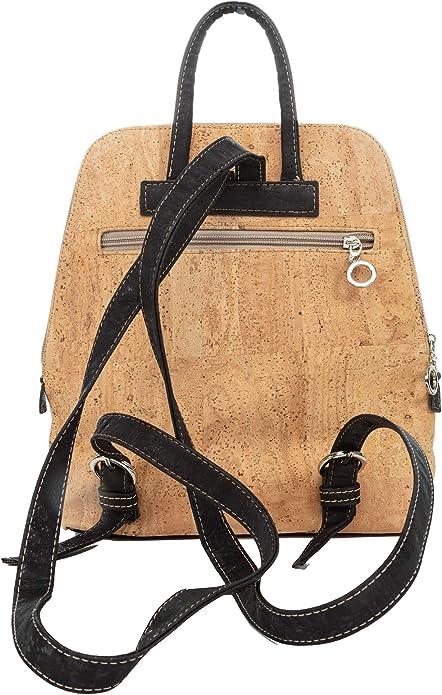 Unique Sustanable Gift Vegan Backpack Handbag Cork Bag Natural CK253