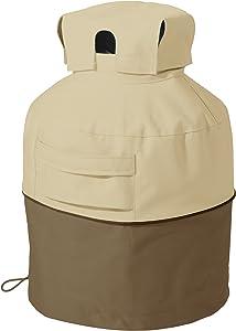 Classic Accessories 55-707-011501-00 Veranda Water-Resistant 7 Inch Propane Tank Cover,Pebble,