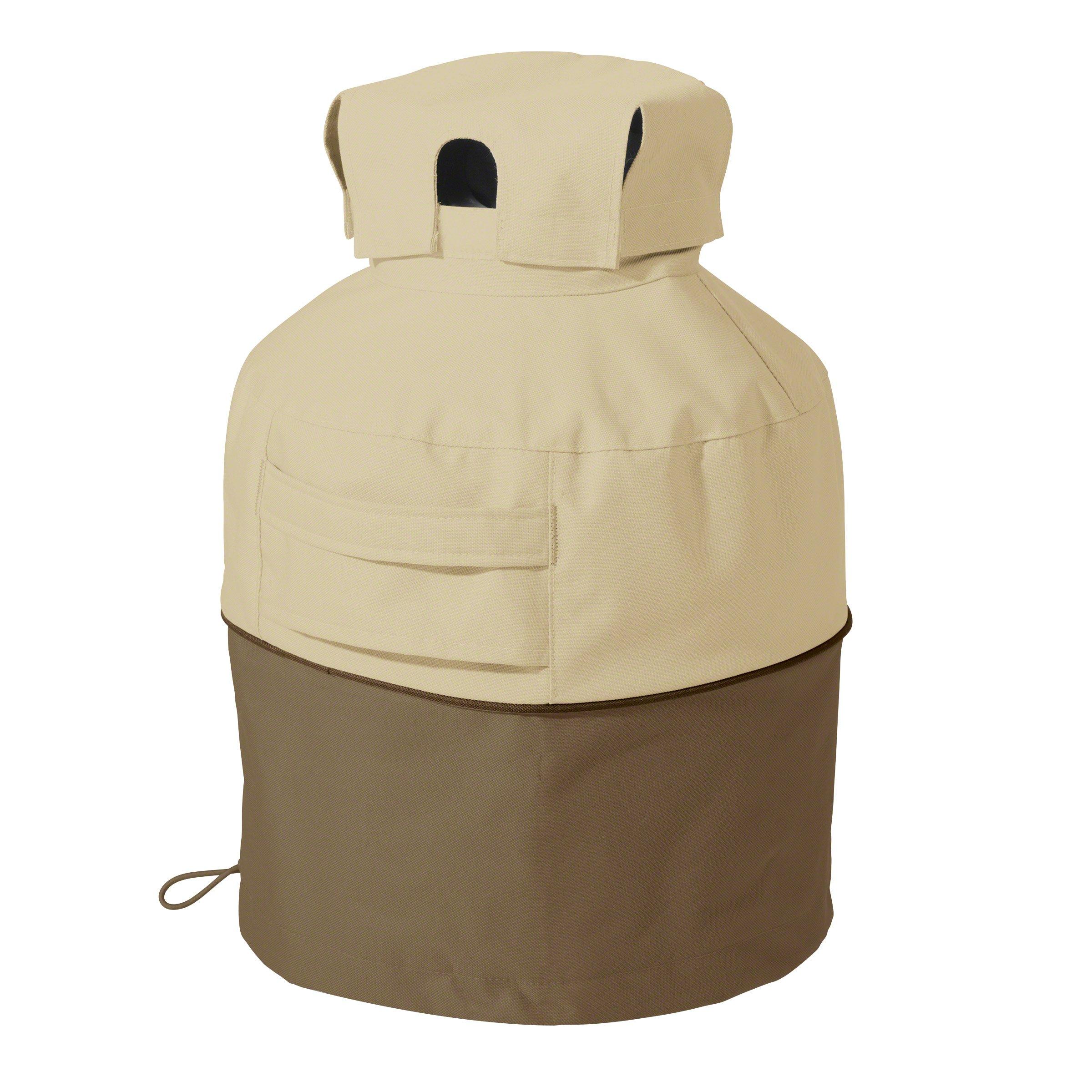 Classic Accessories Veranda 20lb Propane Tank Cover - Durable and Water-Resistant Cover (55-707-011501-00)