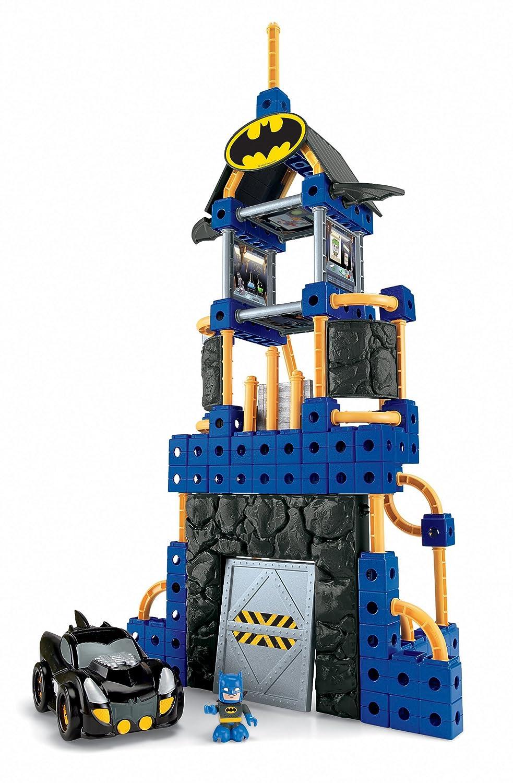 fisherprice trio dc super friends batcave amazonca toys  games -