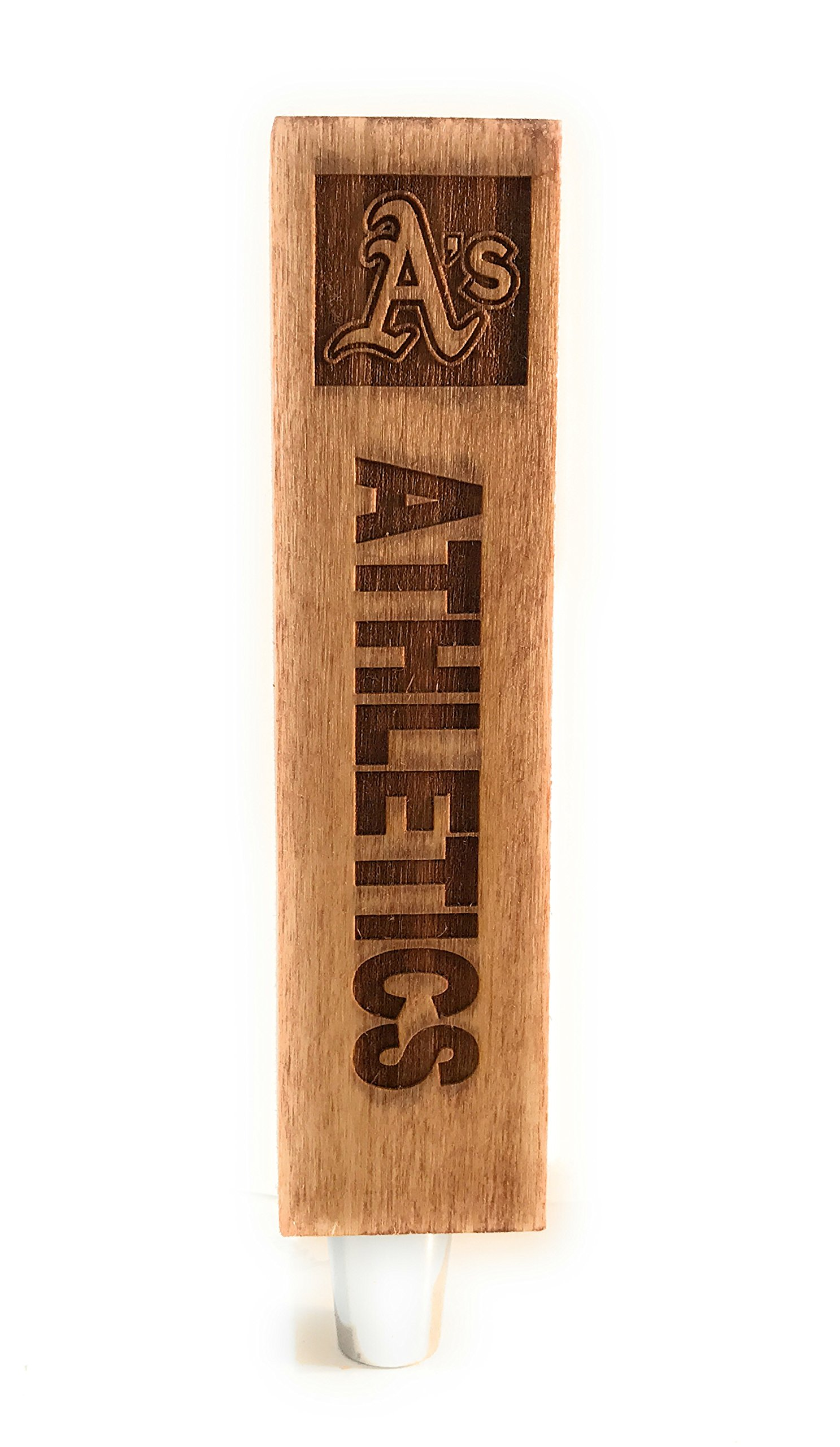 Oakland Athletics A's Engraved Beer Tap Handles