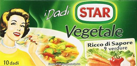 3 opinioni per Star- Dado Vegetale, Ricco di Sapore, con 9 Verdure- 6 confezioni da 10 dadi [60