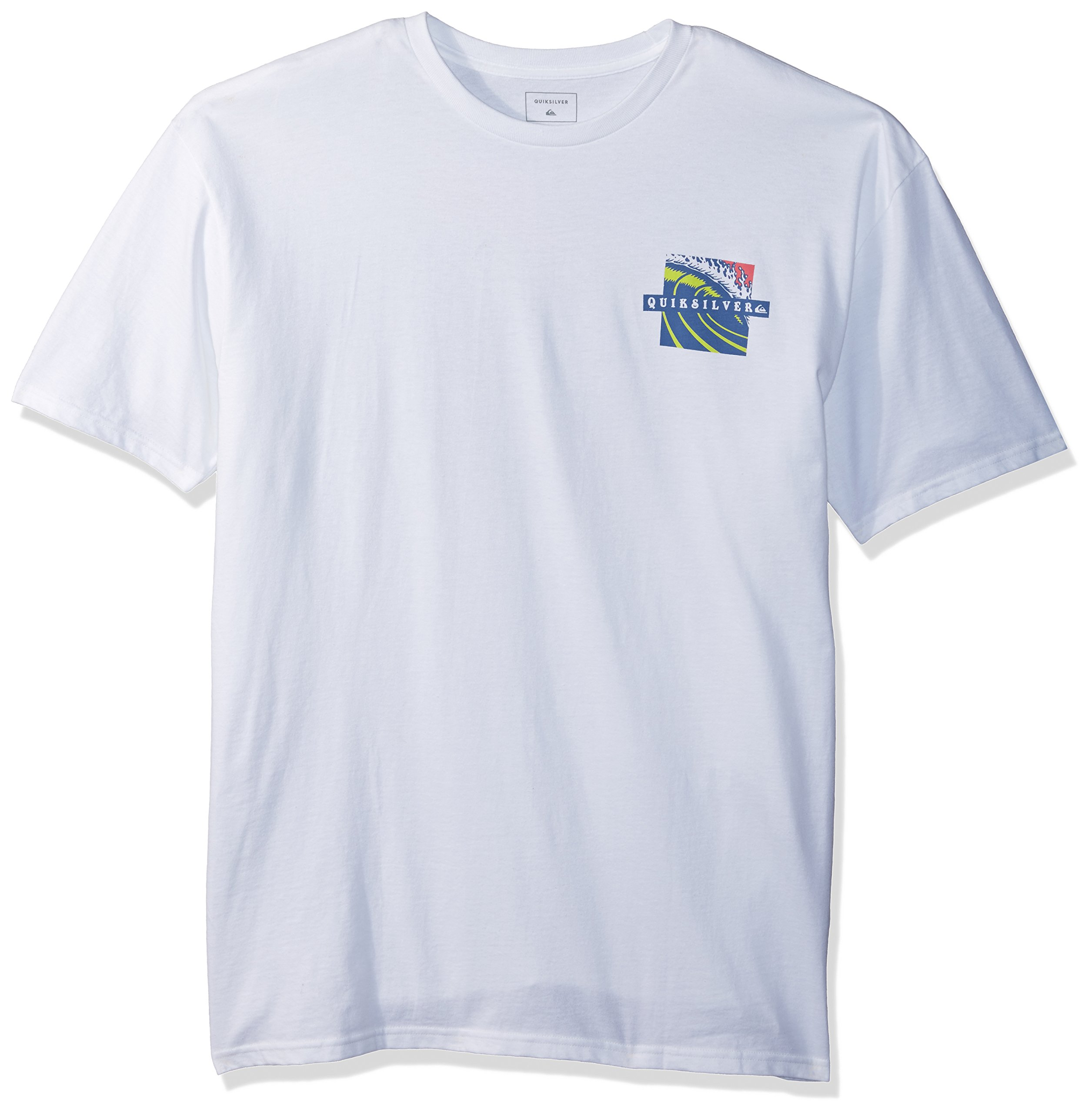 Quiksilver Men's Tropic Eruption Tee Shirt, White, XL by Quiksilver (Image #1)