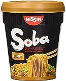 Nissin Yakisoba, Noodle di Grano Saraceno al Curry Istantanei - 88 gr - [confezione da 4]