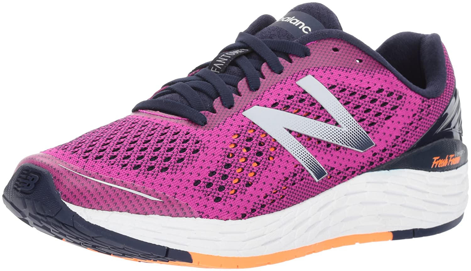 New Balance Women's VONGOV2 Running-Shoes B01NB9QMEV 10 D US|Poisonberry/Vivid Tangerine