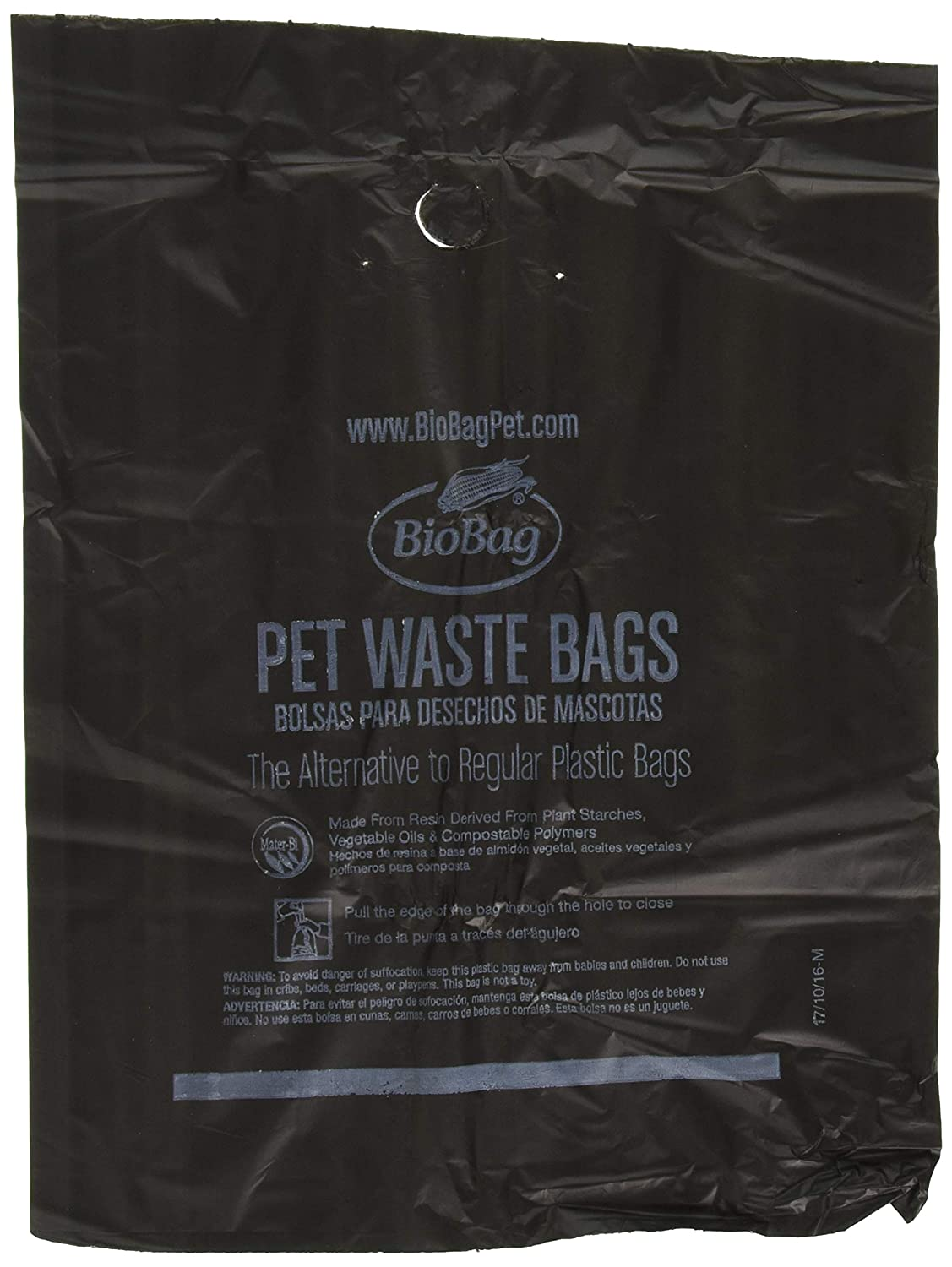 BIOBAG Dog Waste Large Bags, 35 CT