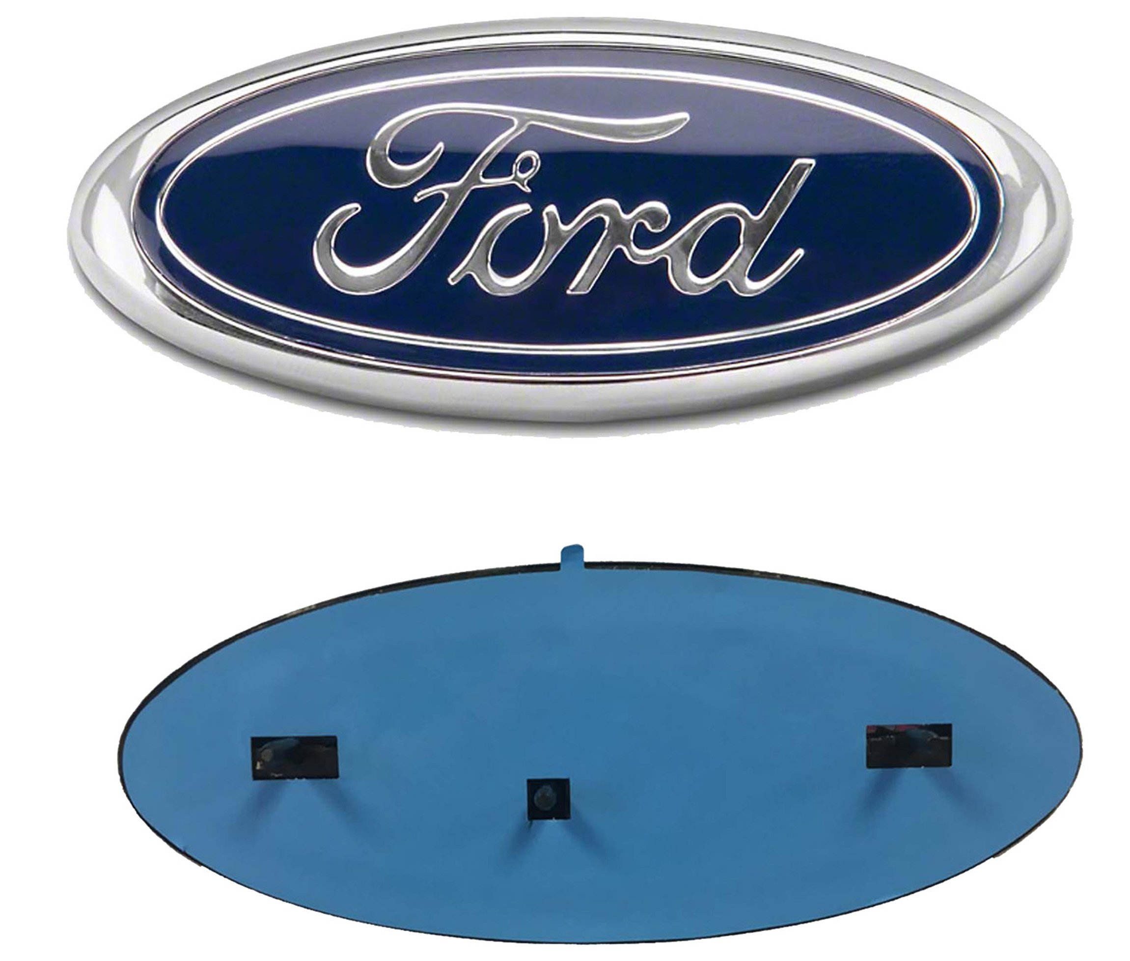 blue oval grille new medallion expedition ford products part emblem
