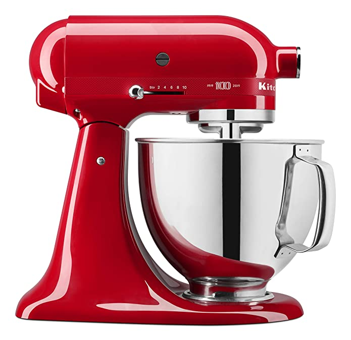 KitchenAid® 100 Year Limited Edition Queen of Hearts 5 Quart Tilt-Head Stand Mixer (KSM180QHSD)