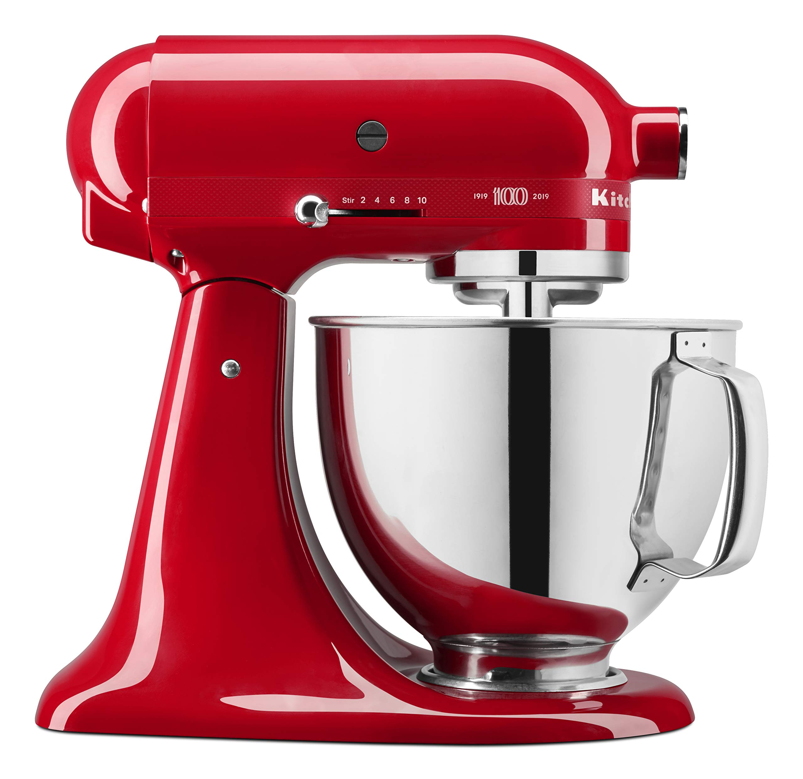 KitchenAid KSM180QHSD 100 Year Limited Edition Queen of Hearts Stand Mixer, Passion Red by KitchenAid (Image #1)