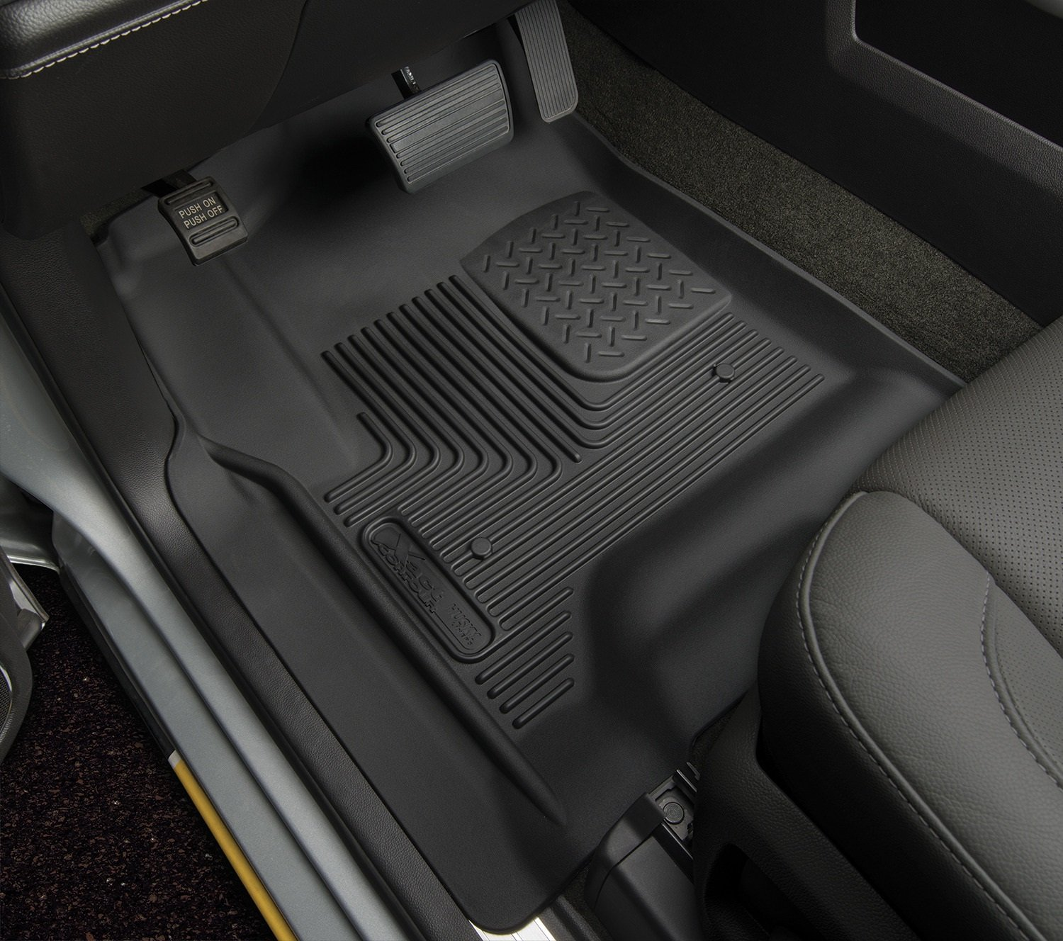 heavy watch duty weather floor liners mats husky all tundra youtube