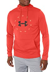 Under Armour Armour Fleece Pullover Hoodie Circle Wordmark