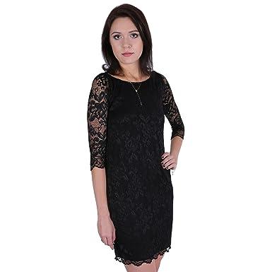 Vestido negro encaje amazon