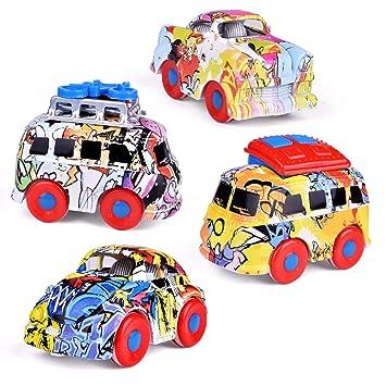 Amazon.com: Juguetes de graffiti para niños con diseño de ...