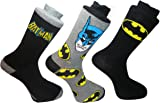 **Great Value** Mens 3pack Comic Book Socks Stocking Filler