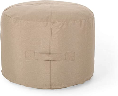 Christopher Knight Home Tammy Indoor Water Resistant 2' Ottoman Pouf