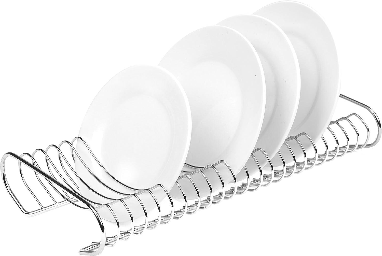Portable Retro Round Metal Tray Storage Rack Diaplay Mold Plate Kitchen Supplies