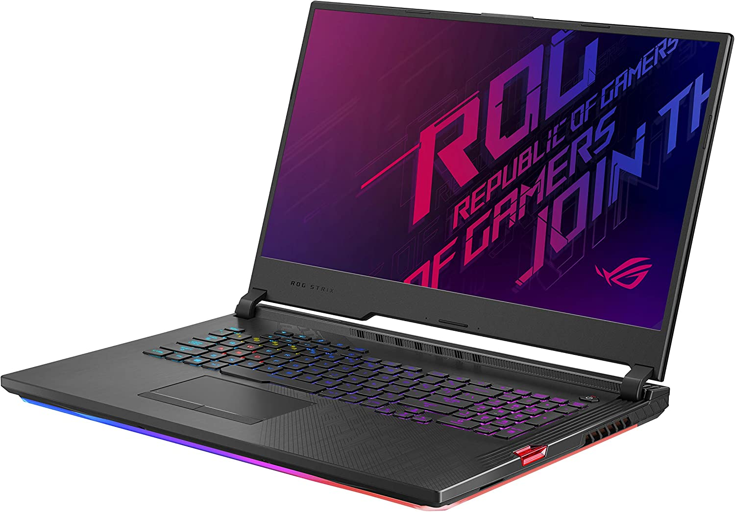 "Asus ROG Strix Hero III (2019) Gaming Laptop, 17.3"" 144Hz IPS Type FHD, NVIDIA GeForce RTX 2060, Intel Core i7-9750H, 16GB DDR4 RAM, 512GB PCIe Nvme SSD, Per-Key RGB KB, Windows 10 Home, G731GV-DB74"