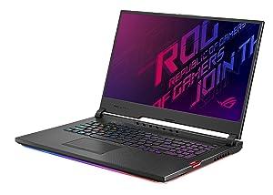 "Asus ROG Strix Hero III Gaming Laptop, 17.3"" 144Hz IPS Type Full HD, NVIDIA GeForce RTX 2070, Intel Core i7-9750H, 16GB DDR4, 512GB PCIe SSD + 1TB FireCuda, Per-Key RGB KB, Windows 10, G731GW-DB76"