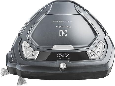 Electrolux ERV5210TG aspiradora robotizada Sin bolsa Gris 0,5 L - Aspiradoras robotizadas (Sin bolsa, Gris, Otro, LED, 0,5 L, 75 dB): Amazon.es: Hogar