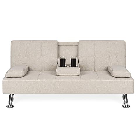 Amazon.com: Best Choice Products - Sofá cama plegable con ...