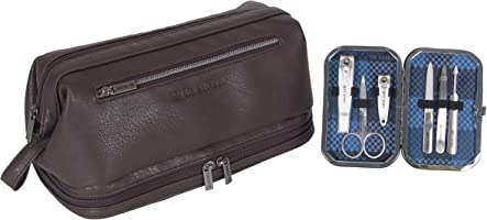 Ben Sherman 2-Piece Settravel Kit and 6-pc Manicure