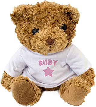 Soft Animal Plush Toy Teddy Bear Ruby the Teddy Stuffed Animal